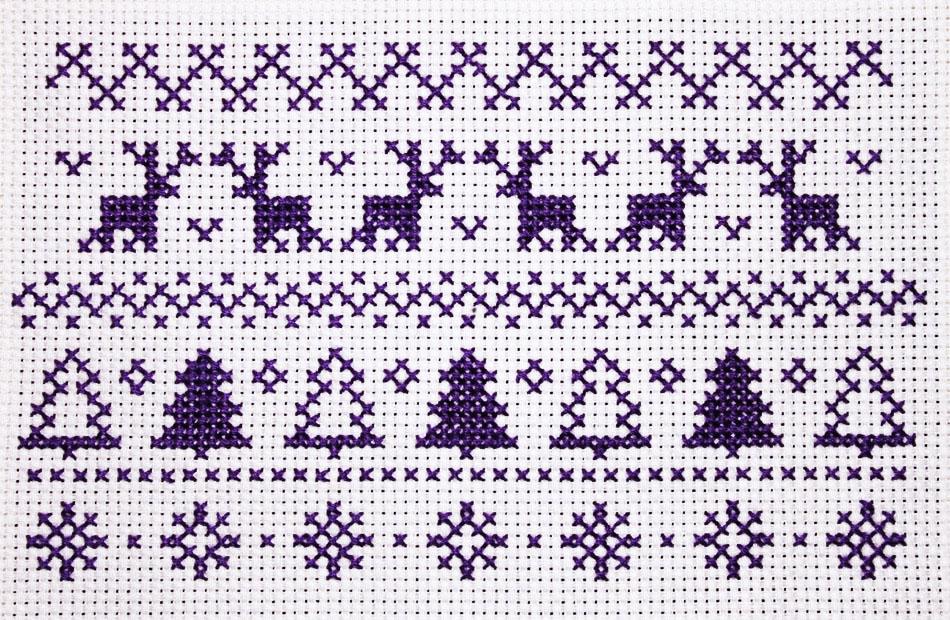Josie Makes… Christmas Cross Stitch | Josie Makes
