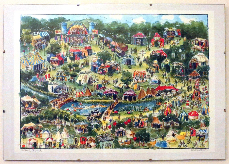 Latitude Festival Map